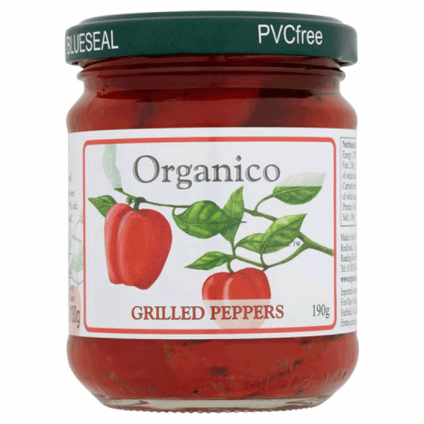 peppers in a jar